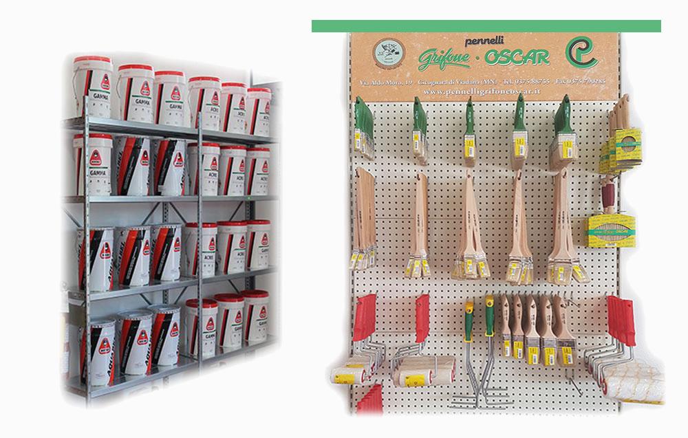 Prodotti in esposizione Boero, Mirodur, Pennelli grifone OSCAR