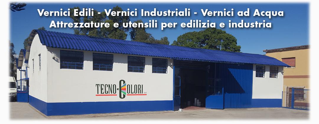 Sede Tecnocolori Srl - Aprilia - Vernici edili - Vernici industriali - vernici all'acqua