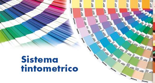 Sistema tintometrico per una riproduzione esatta del colore